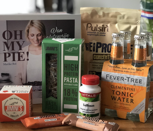 House of Rebels PR box - Food & health