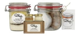Setje van DIY Soap producten