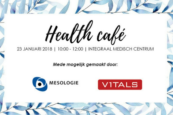 House of Rebels Health Café event Mesologie - Vitals